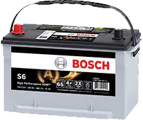 Bosch Batteries transparent